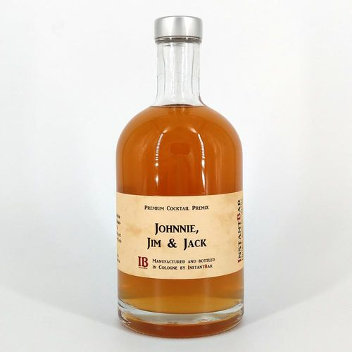 Johnnie, Jim & Jack - Premium Cocktail Premix