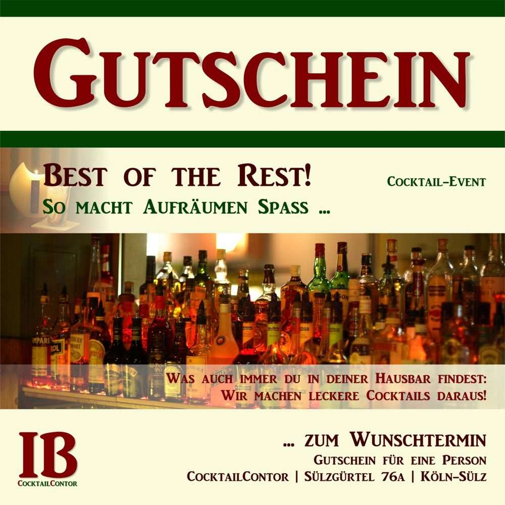 Gutschein: Best of the Rest. Cocktail-Event in Köln.